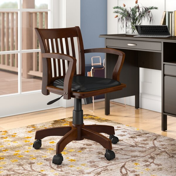 Genevieve Mid-Back Deluxe Bankers Chair by Three P