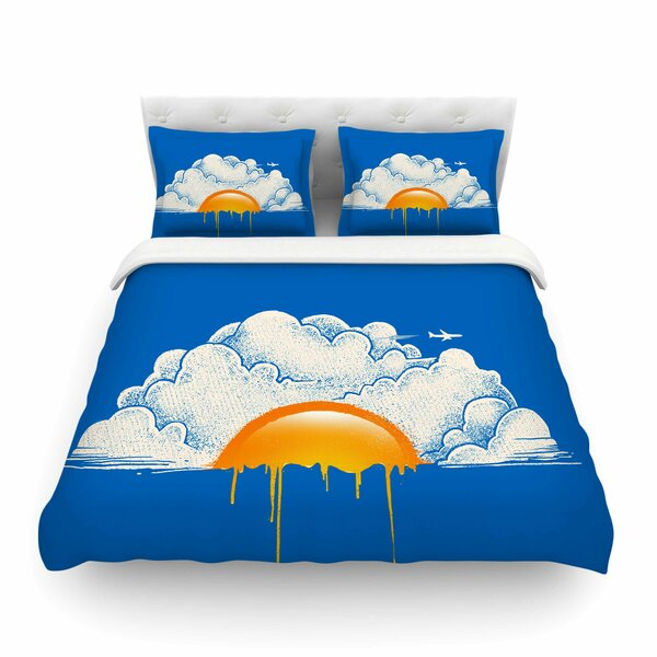 Breakfast Food Digital Carbine Featherweight Duvet Cover by East Urban Home