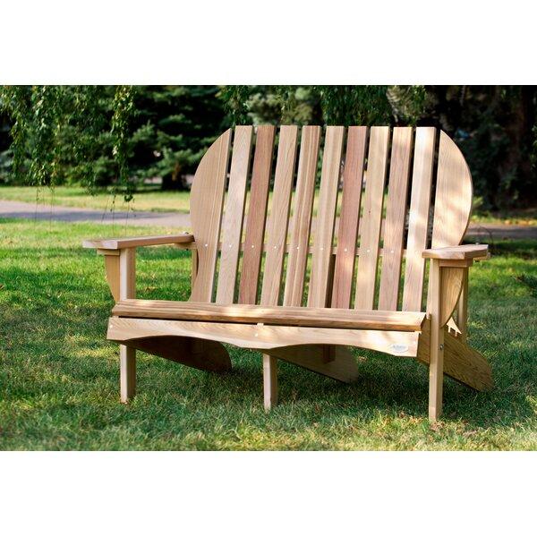 Ardoin Solid Wood Adirondack Chair by Union Rustic