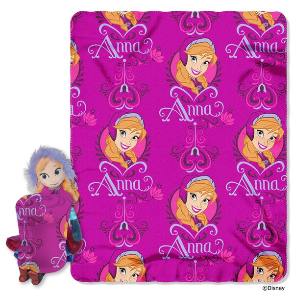 Frozen - Anna Polyester Fleece Throw by Northwest Co.
