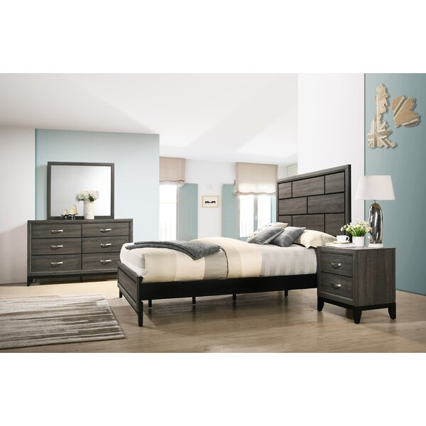 Macy Standard 5 Piece Bedroom Set By Wrought Studio