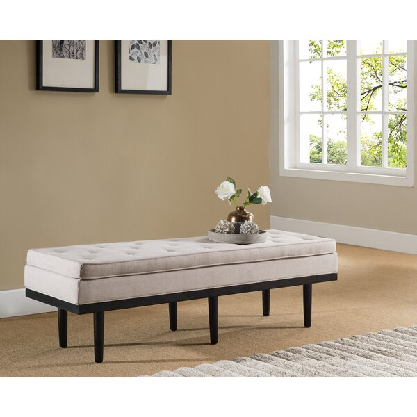 Dorcey Upholstered Bench by Ivy Bronx