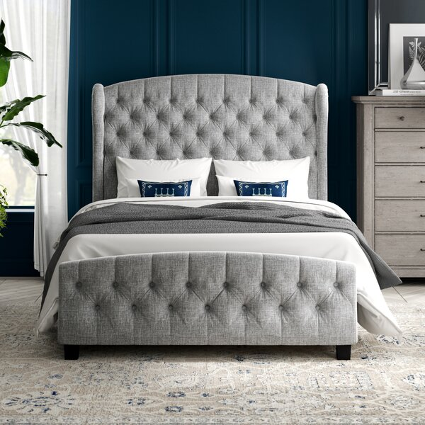 Ralls Queen Upholstered Standard Bed by Greyleigh