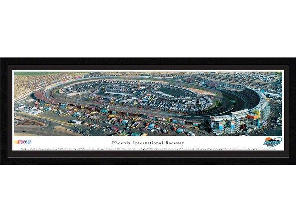 NASCAR Phoenix International Raceway by James Blakeway Framed Photographic Print by Blakeway Worldwide Panoramas, Inc