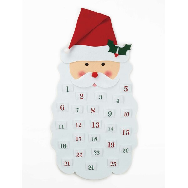 Santa Claus Mistletoe & Co Holiday Advent Calendar by Peking Handicraft