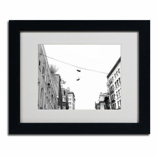 Lil Italy by Miguel Paredes Framed Photographic Print by Trademark Fine Art