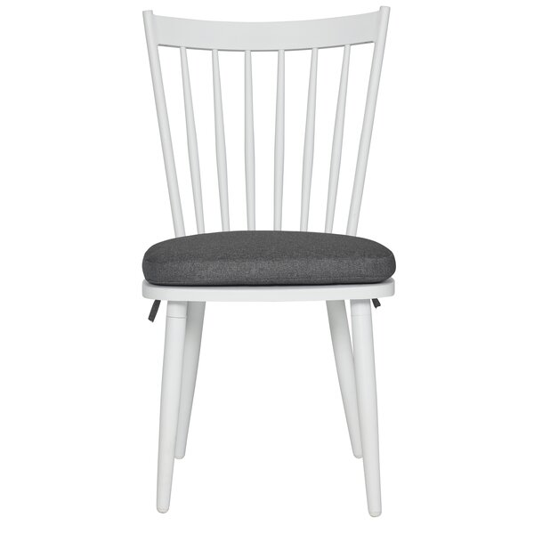 Crespin Patio Dining Chair with Cushion (Set of 2) by Charlton Home