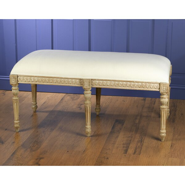 Upholstered Bench by AA Importing