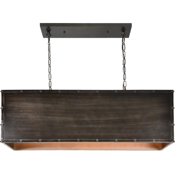 Haug 3 - Light Unique Rectangle Chandelier by Williston Forge Williston Forge