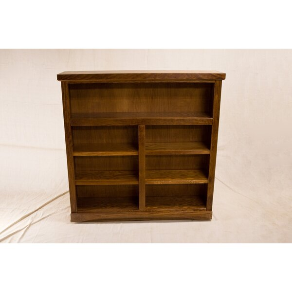 Custer 2 Shelf Traditional Standard Bookcase by Darby Home Co