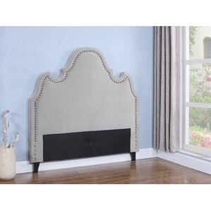 Upholstered Panel Headboard by BestMasterFurniture