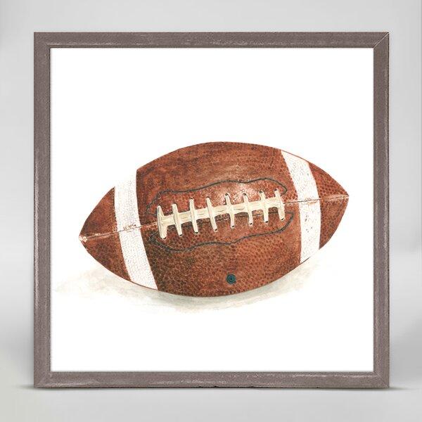 Berin Football Framed Canvas Art by Zoomie Kids