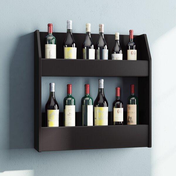 Kinard 24 Bottle Wall Mounted Wine Rack by Ebern Designs