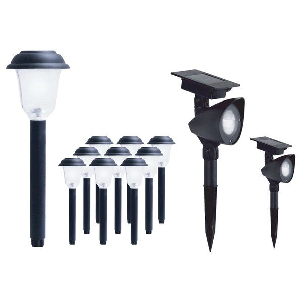LED Landscape Lighting Set (Set of 12) by Jiawei Technology