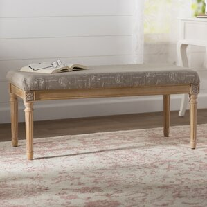 Mellina Upholstered Bench by Lark Manor