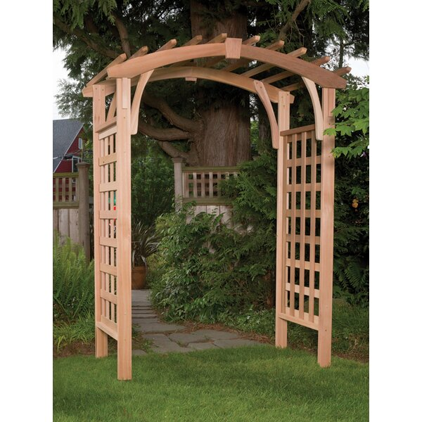 Madrona Wood Arbor by Arboria