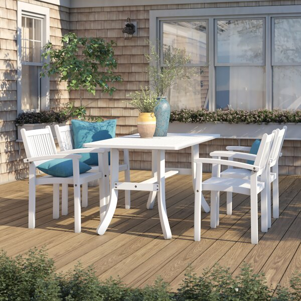 Manchester 5 Piece Dining Set by Sol 72 Outdoor