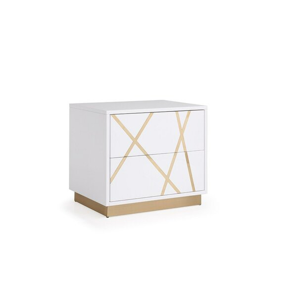 Foti 2 Drawer Nightstand by Everly Quinn