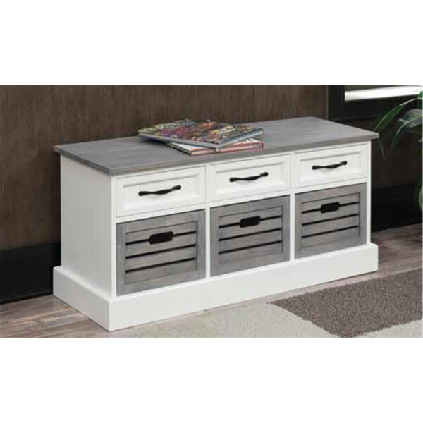 Cielito Storage Bench by Rosecliff Heights