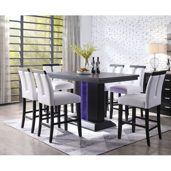 Julyan 7 Piece Pub Table Set by Andrew Home Studio