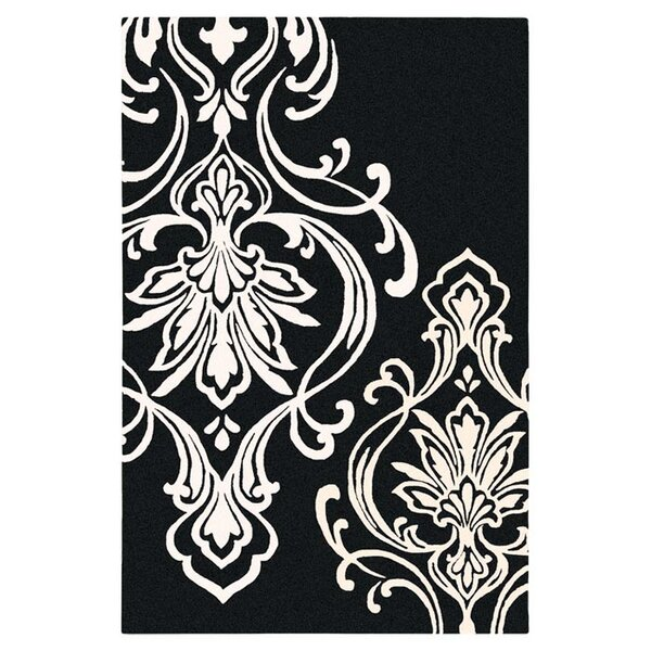 Modern Classics Black/Cream Rug by Candice Olson Rugs