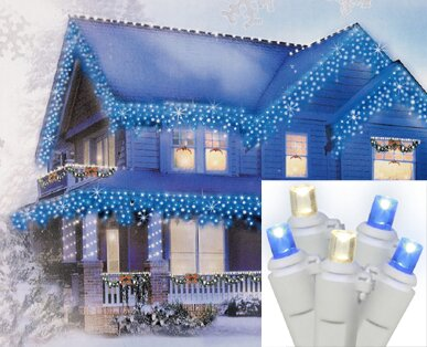 70 Wide Angle Icicle Christmas Light (Set of 70) by Vickerman