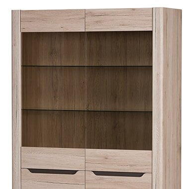 Estrada 2 Door Display Accent Cabinet by Loon Peak