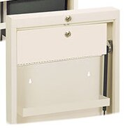 Deluxe 14 W x 17 H Wall Mounted Cabinet by Omnimed