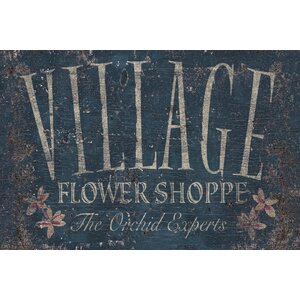 Flower Shoppe 3 by IHD Studio Textual Art on Wrapped Canvas by Portfolio Canvas Decor