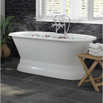 Enameled Cast Iron Tubs Bathtubs You Ll Love Wayfair