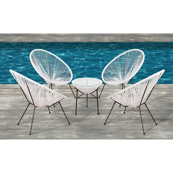 Bovina Sun Oval Patio Chair (Set of 4) by Ivy Bronx