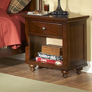 Aris 1 Drawer Nightstand by Woodhaven Hill