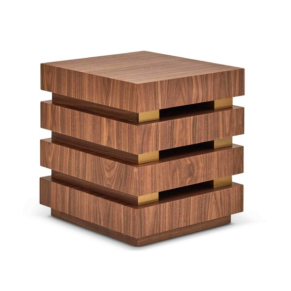 Sulema End Table by Wrought Studio