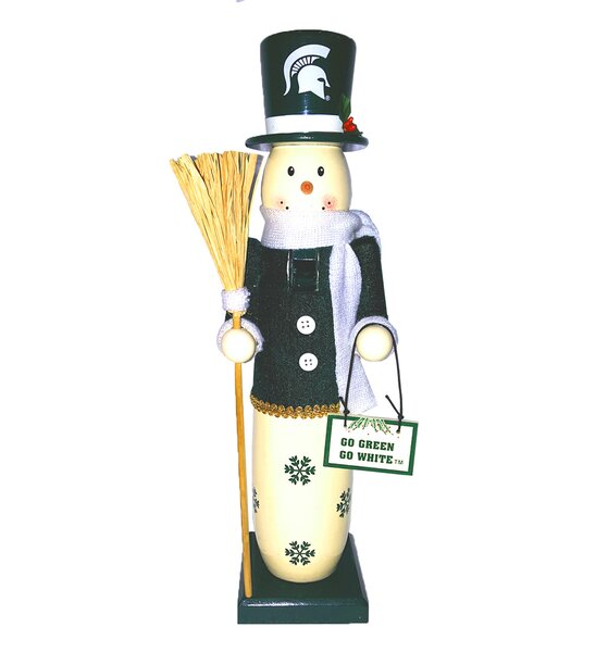 Michigan State Snowman Nutcracker by Santa's Workshop