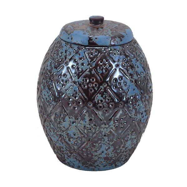 Ceramic Jar by Sagebrook Home