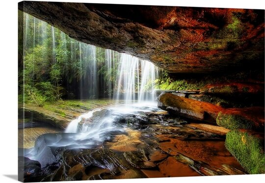 Under the Ledge by Mark Lucey Photographic Print on Canvas by Canvas On Demand