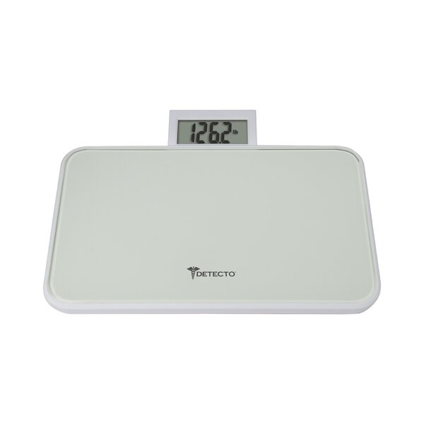 Detecto Travel Glass Digital Scale with Pop Up Display by Escali