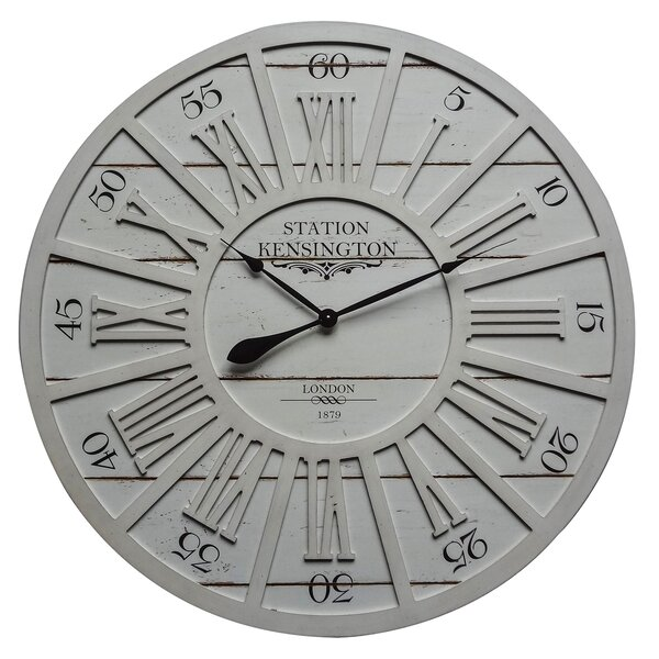 Oversized Lumm 35.4 Wall Clock by Gracie Oaks