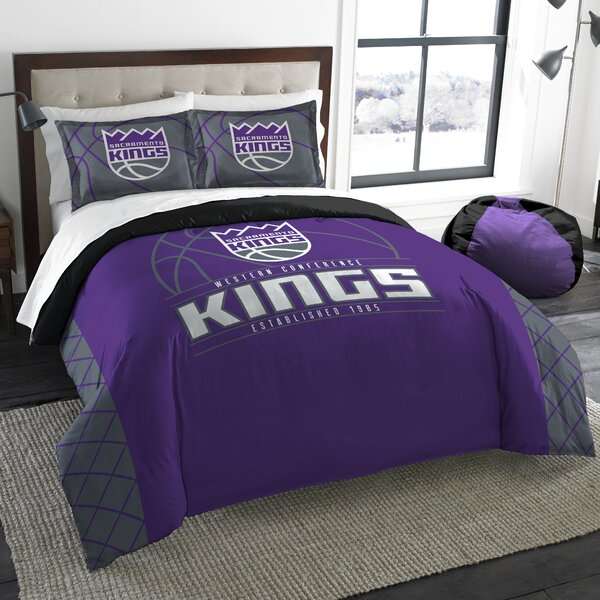 NBA Reverse Slam 3 Piece Full/Queen Comforter Set by Northwest Co.