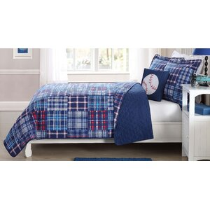 Rex Plaid Patch Quilt Mini Set