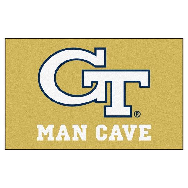 Collegiate NCAA Georgia Tech Man Cave Doormat by FANMATS