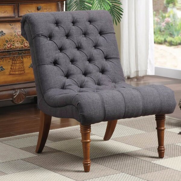Waldon Patently Voguish Slipper Chair by Ophelia & Co.