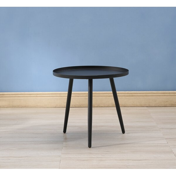 Bedworth Metal Side Table by Ebern Designs