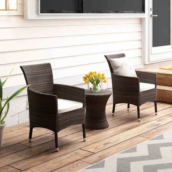 Lockard 3 Piece Conversation Set by Wade Logan