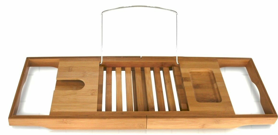 Beringer Bamboo Bath Caddy & Reviews | Joss & Main