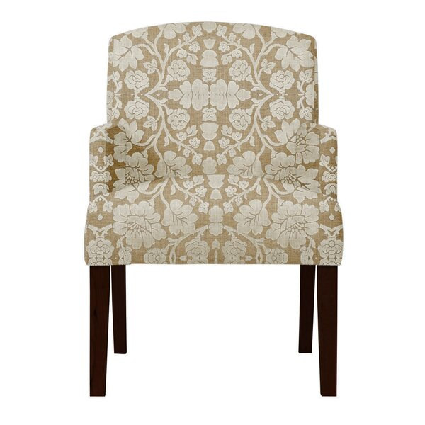 Arturo Beige Arm Chair by Langley Street