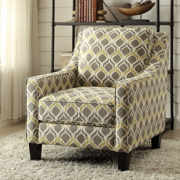 Snowberry Armchair by Bungalow Rose