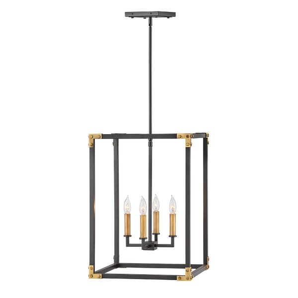 Altha 4 - Light Lantern Rectangle Chandelier by 17 Stories 17 Stories