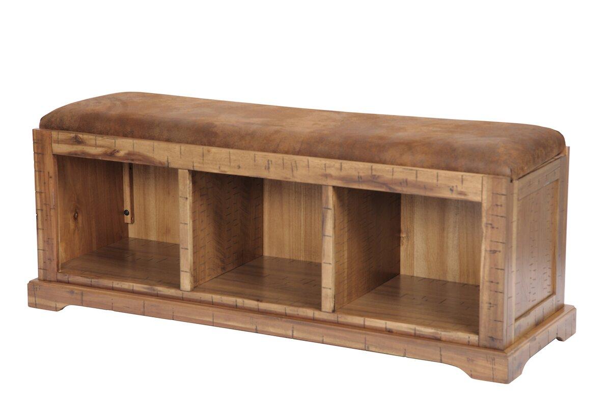 loon peak donovan solid wood hall storage bench reviews. Black Bedroom Furniture Sets. Home Design Ideas