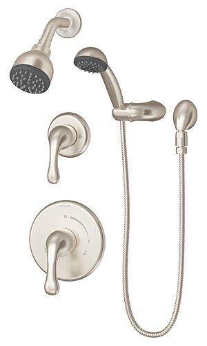 Unity Pressure Balanced Diverter Handheld Shower Head Complete Shower System by Symmons